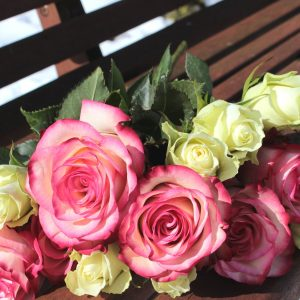 Funeral flowers in Llanrwst