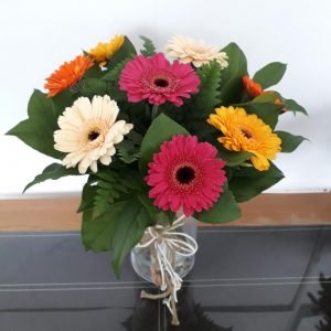 Simply Mixed Gerbera Flower Bouquet