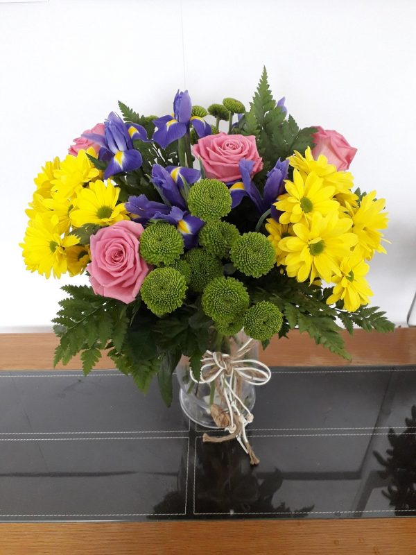 Vibrant Spring Flower Bouquet