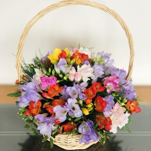 Freesia Basket Delivery